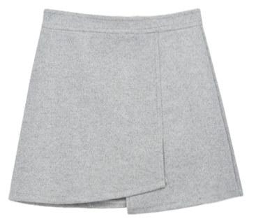 Unbalanced Warm Skirt