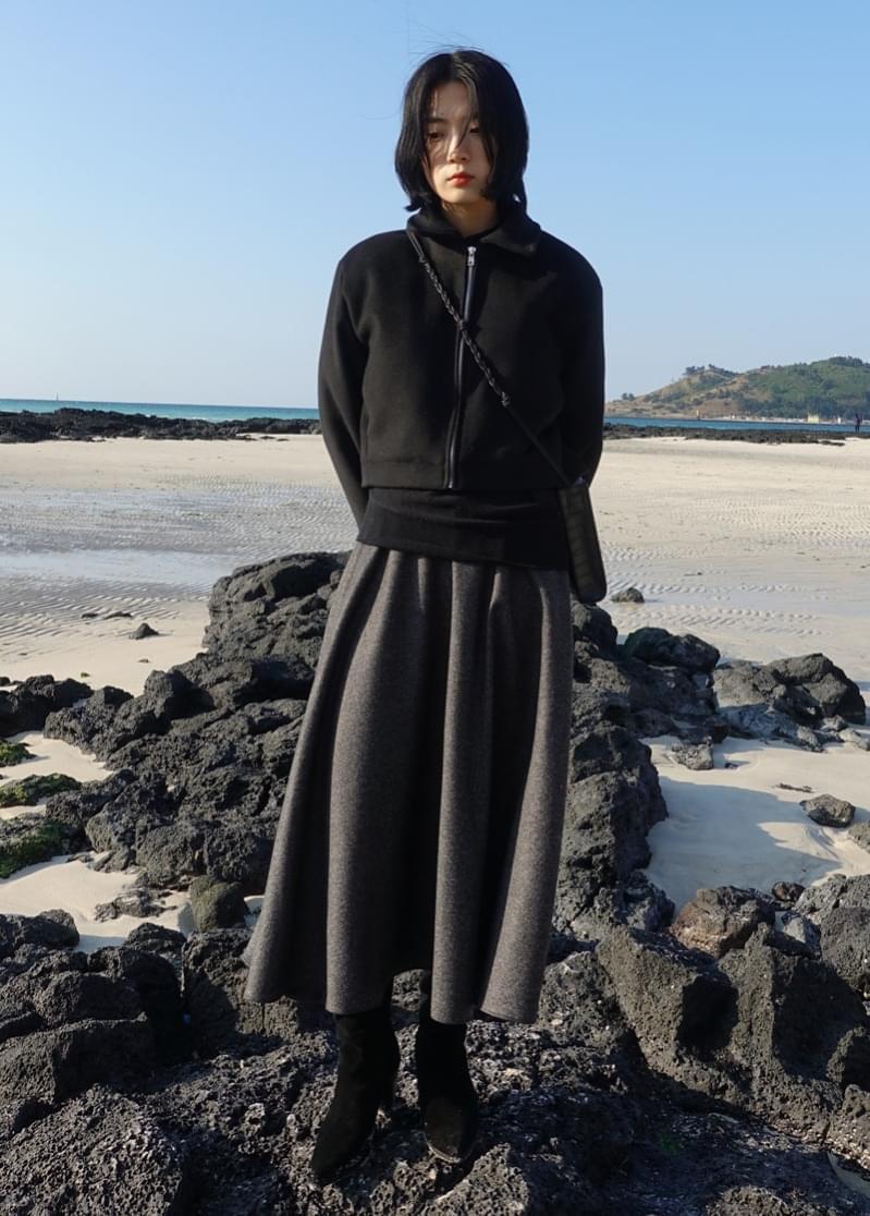 Of Flare Skirt