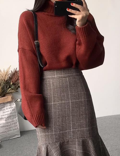Formal Turtle Knit