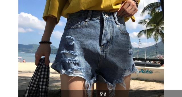Vintage back roll hot pants