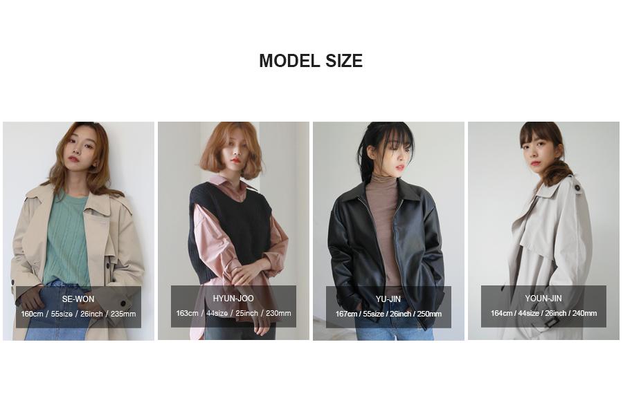 Fur collar check half coat