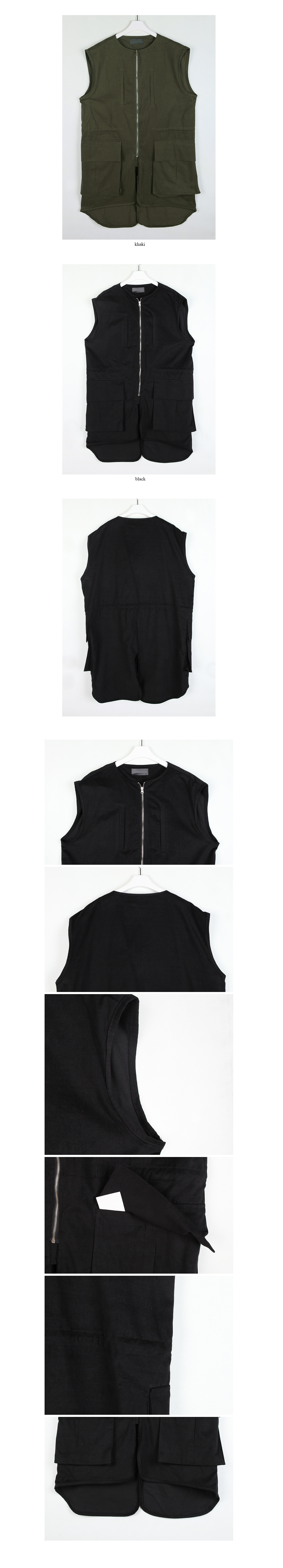 bellcrop night trading vest (2colors)