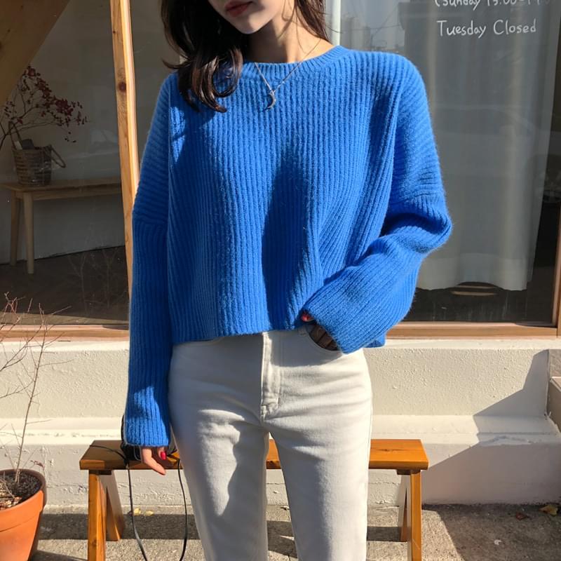 PJI knit blue