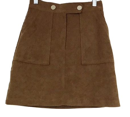 Clothed-down skirt