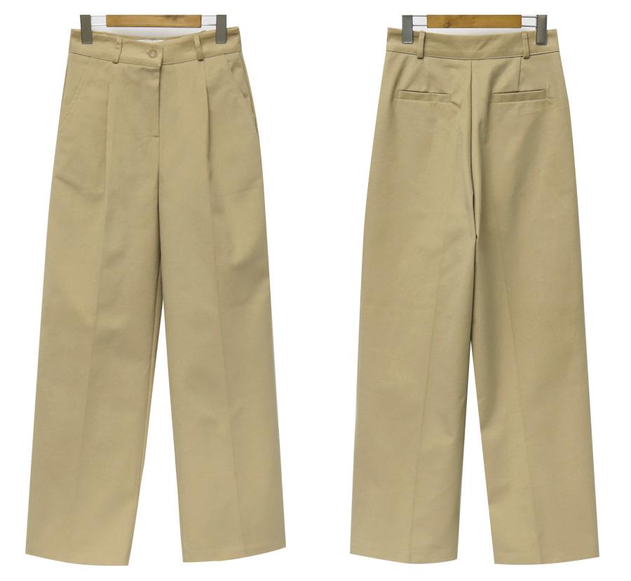 Cosmic cotton wide pants_M (size : S,M)