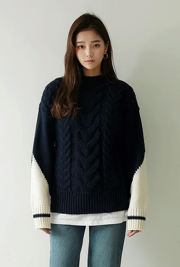 Tomben twisted knit