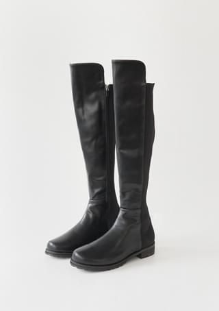texture combine long boots