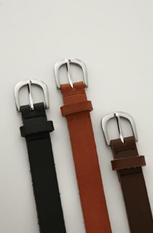 Madison-cowhide belt
