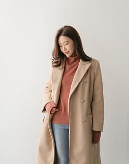 Coz double wool coat