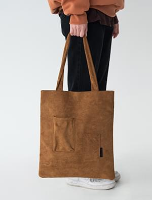casual suede bag