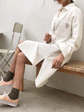 Cotton Allen Shirt Dress