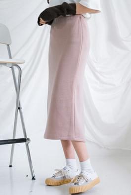Knit Jersey Banding Skirt