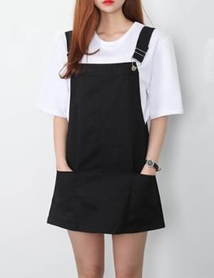 Pocket A suspenders skirt