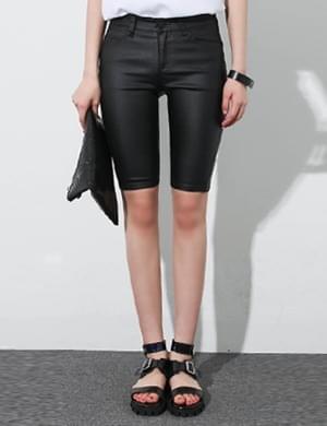 Obu coating black pants