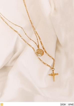 COAS GOLD NECKLACE - 2 TYPE