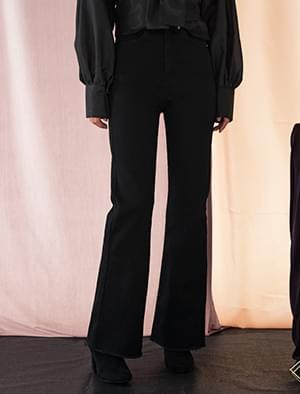 high-waist napping jean
