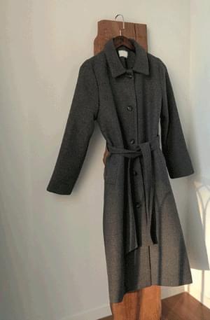 Paltrow-long belt coat