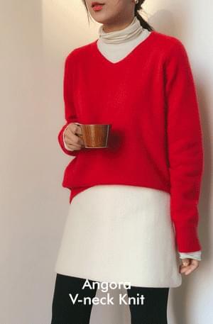 Forming-Angora Knit