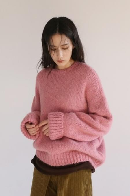 alpaca merino wool knit top