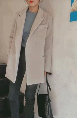 Belgium- Belt Wool Jacket
