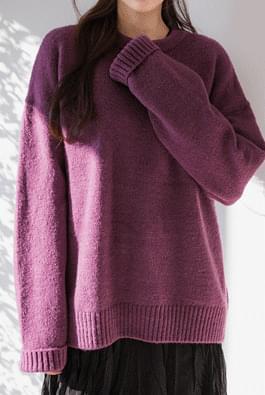 Picky round knit