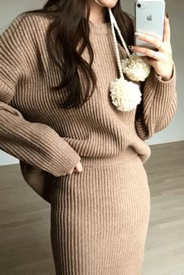 Woolly two-piece