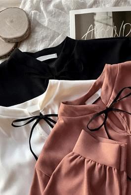 Romantic Ribbon Blouse