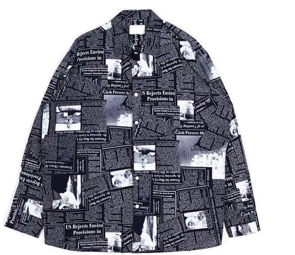 newspaper shirts - UNISEX