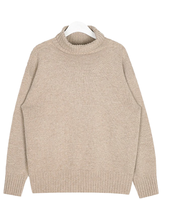 FRESH A normal lambswool polar knit