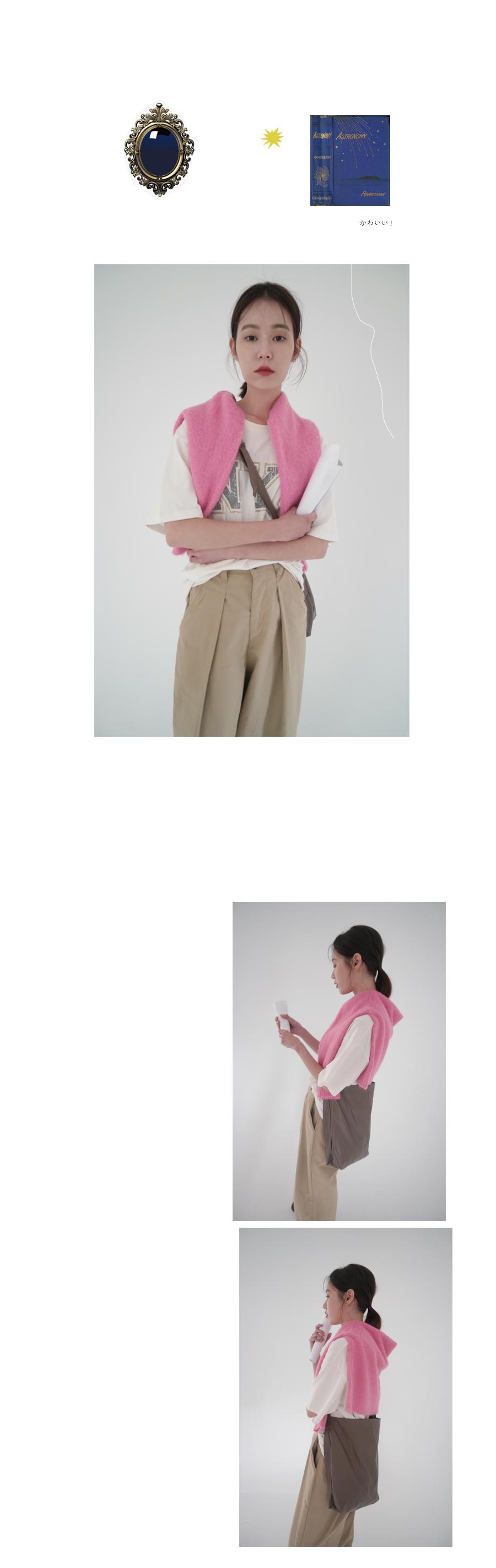 front deep tuck pants (3colors)