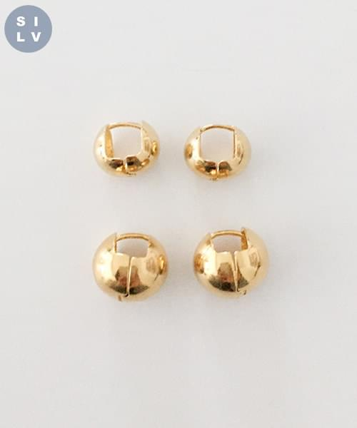 (silver925) flame earring