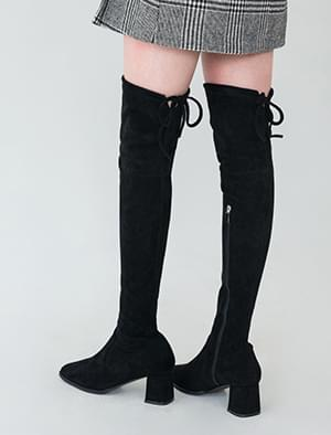 middle heel boots