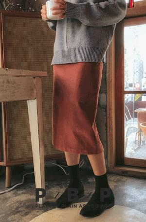 Self-produced / PBP. Ranking - Corduroy skirt