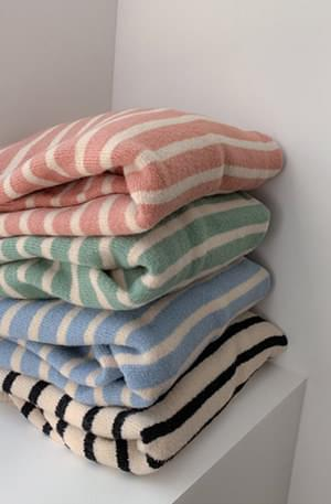 Getlucky-striped knit