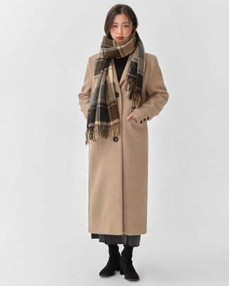 french single long coat