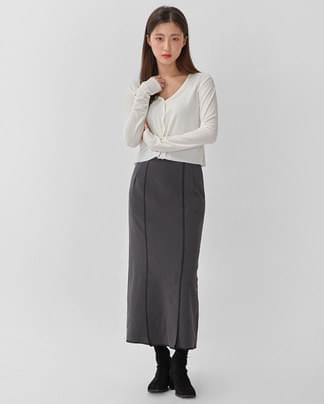 sage velvet crop cardigan