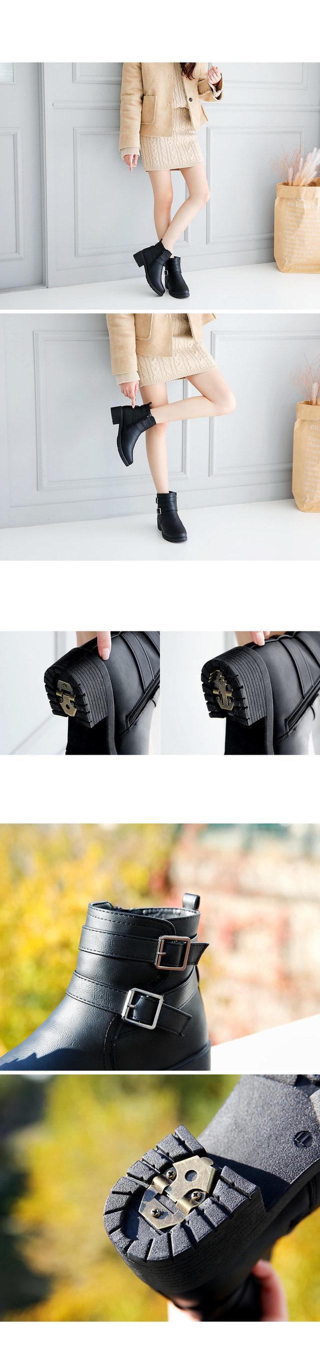 Zen High Ankle Boots 4.5cm