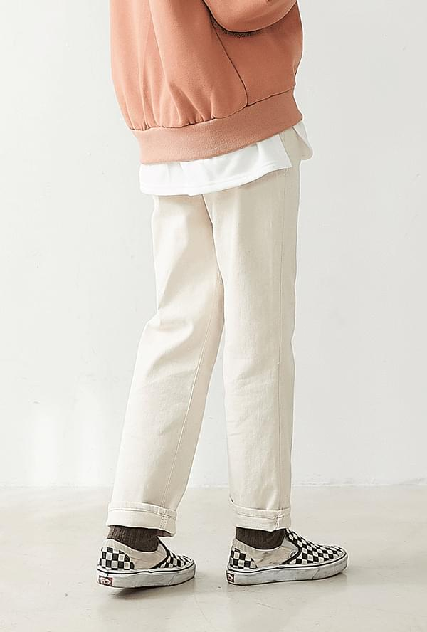 Lois brushed cotton pants