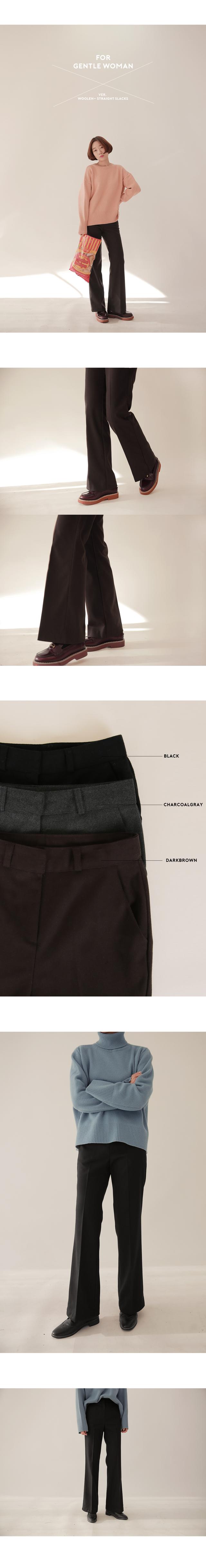 Gentle - Wool SLEX [size: S, M, L, XL- exclusive sale ♥ / 3color]