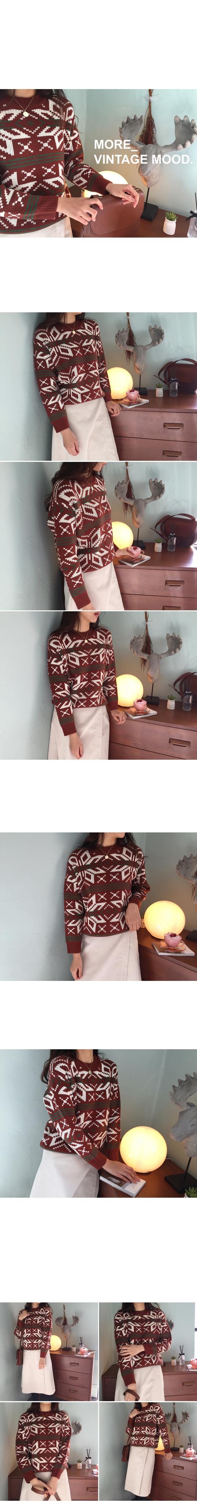 Rudolph-vintage knit
