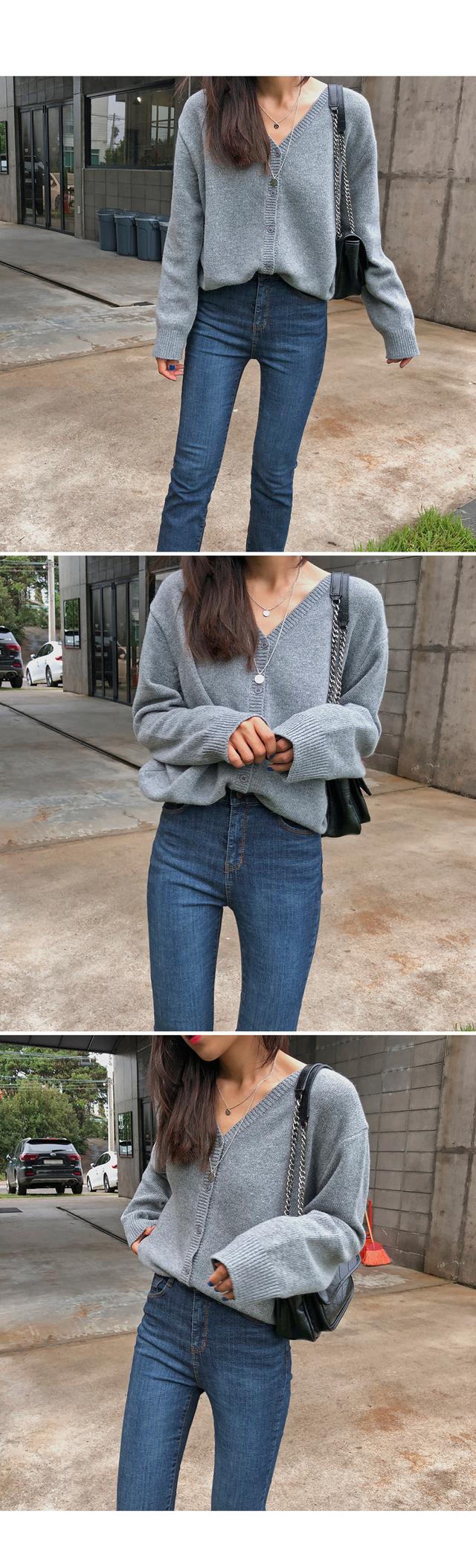 Secret-Wool Cardigan