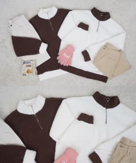 Color fleece semi-finished MTM