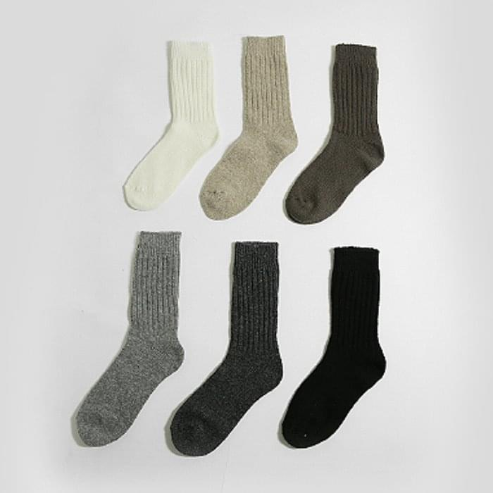 Need - Wool Cache Knit Socks 襪子