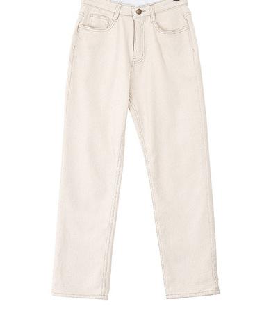 Lois brushed cotton pants