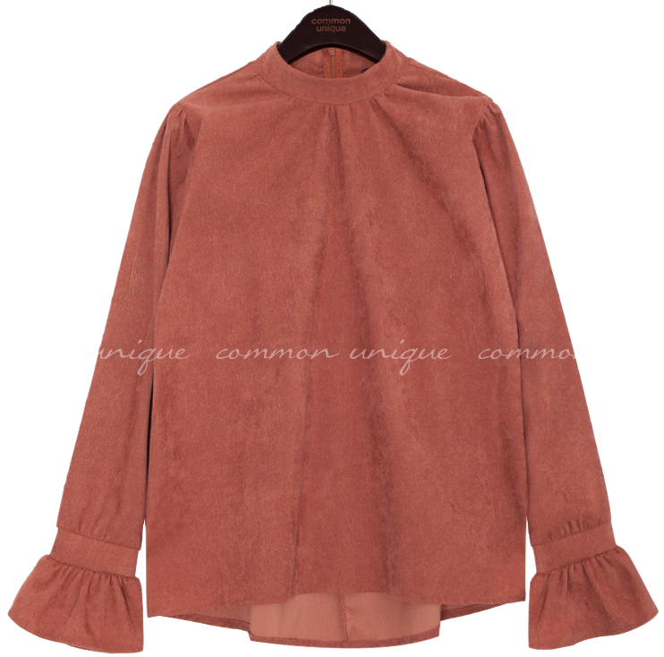 OLLY CORDUROY CUFFS BLOUSE