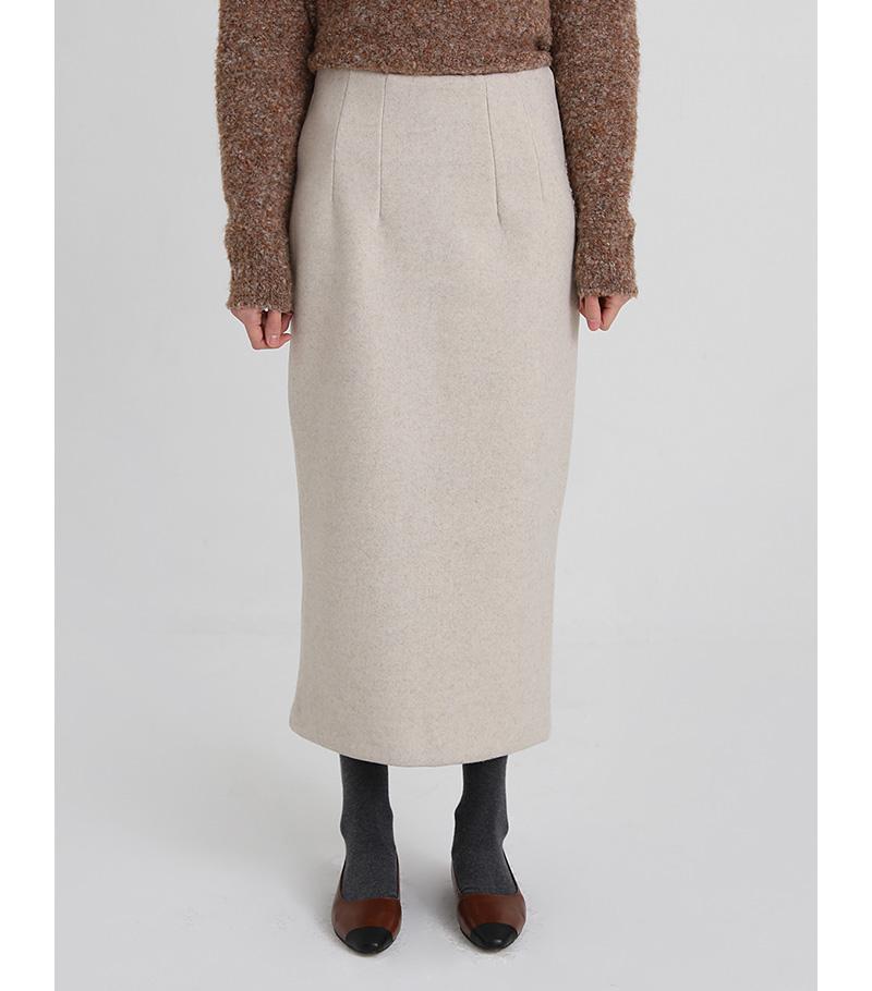 heal up wool skirt