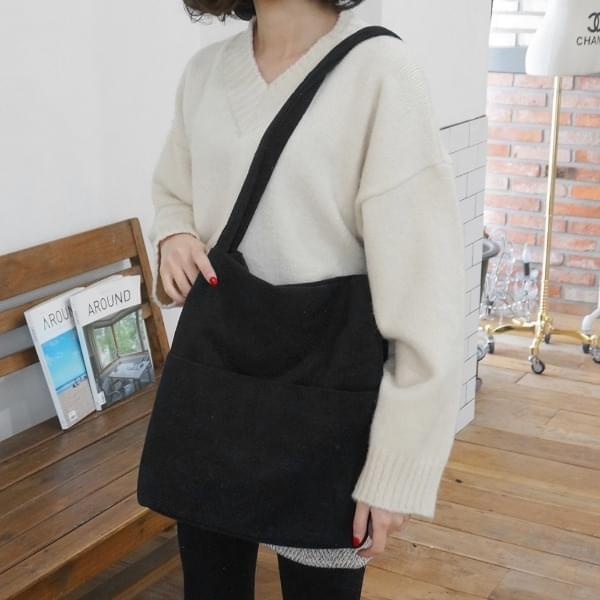 Fleece wrinkle Eco Bag