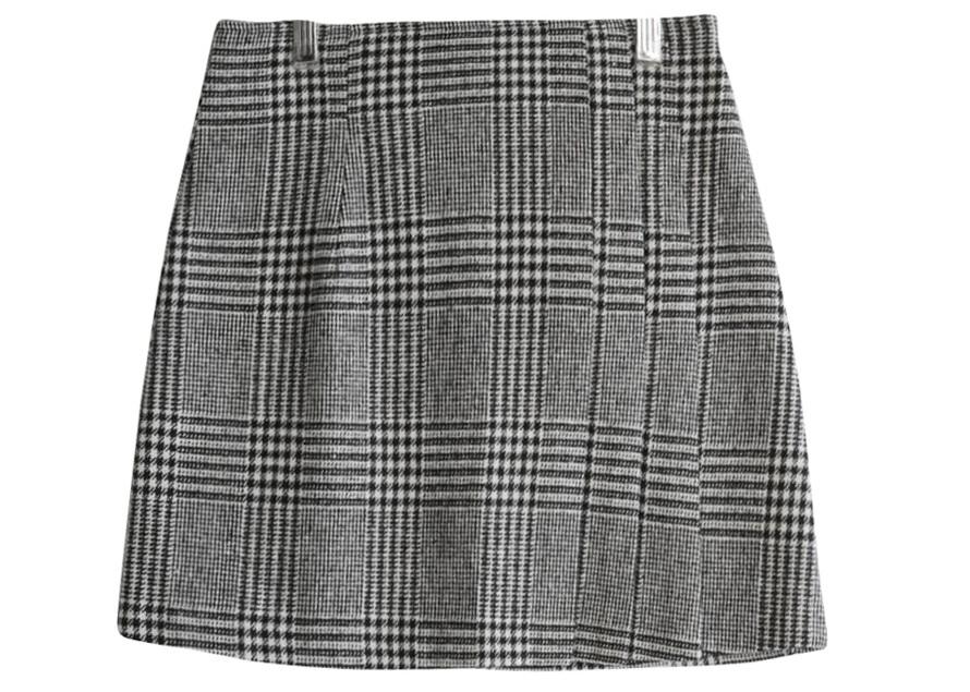 Rama Houns check skirt