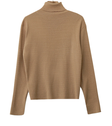 Self-produced / PBP. Toward-Turtle Slit Knit