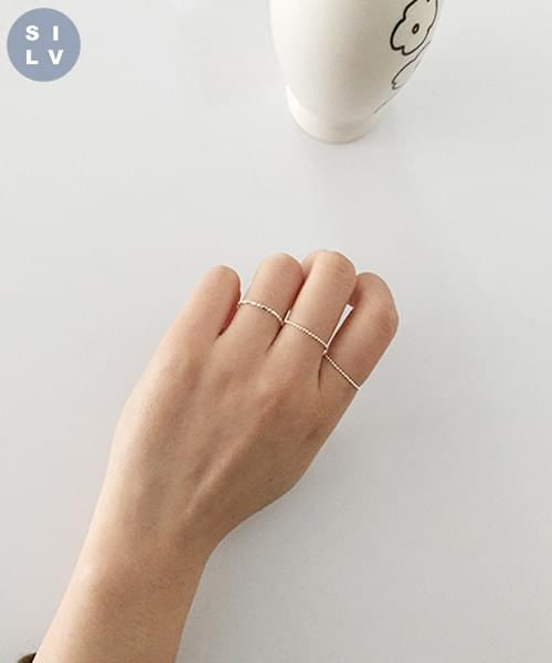 (silver925) soft ring-3type